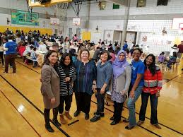 flushing school celebrates student diversity with an international
