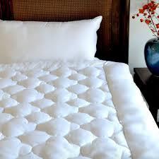 downlinens billowy clouds mattress pad mattress pads