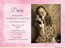 soft pink photo birthday invitation woman u0027s wording