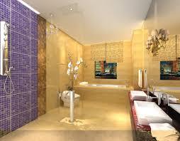 rendering purple tiles in bathroom download 3d house