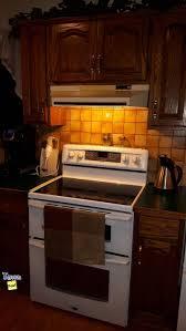 custom oak exterior kitchen cabinets home improvement in iron