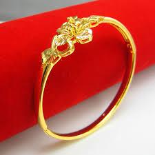 gold hand bracelet images Gold bracelet women 18k gold plated women high artificial 999 fine jpg