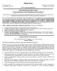 project management resume sample berathen com