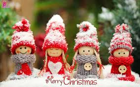 merry wishes with beautiful dolls wallpaper