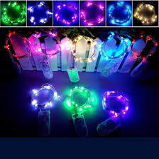 discount led button battery string lights 2017 led button