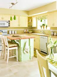 Yellow Kitchen With White Cabinets - pale yellow kitchen ideas decor with white cabinets