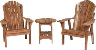 Amish Chair Adirondack Chair And Table Set Indiana Amish Chair Set