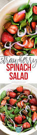 strawberry spinach salad recipe add a pinch