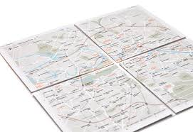 map paper map the folding zoomable paper map expands to other cities