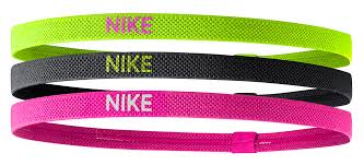 elastic hair bands nike accessories elastic hairbands 3pk buy and offers on runnerinn