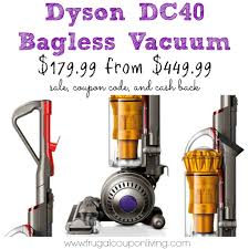 black friday dyson sale dc40 vacuum for 180 from 450