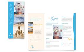 tri fold brochure template free download spa brochure template spa tri fold brochure template 10 spa