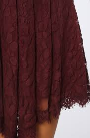 free people the floral mesh lace dress in plum karmaloop com