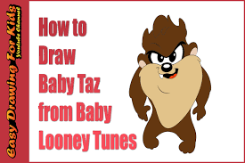draw baby taz baby looney tunes drawing