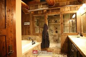 log cabin bathroom ideas bathroom ideas log homes interior design