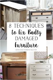 best glue for cabinet repair 8 techniques to fix badly damaged furniture so