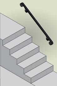 Wall Mounted Handrail Custom Length Wall Handrail Diy Iron X Handrails Wall X Fits Up To