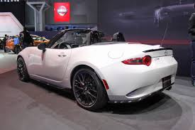 mazda sports car models mazda mx 5 miata club model 2015 ny auto show youtube