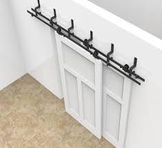 Closet Door Systems Sliding Barn Door Track Hardware Kit Closet Bottom Guide Cabinet