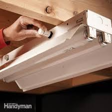 Light Fixture Problems Fluorescent Light Repair Family Handyman