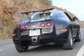 Modified Bugatti Veyron Super Sport