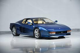 lexus service farmingdale 1989 ferrari testarossa carrera turbo motorcar classics exotic
