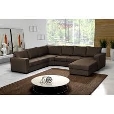 canapé d angle marron canapé d angle 6 places marron pas cher achat vente canapé