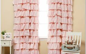Urban Outfitters Waterfall Ruffle Curtain by Curtains Amazing Pink Ruffle Curtains 7 Homey Ruffle Curtains
