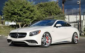 best mercedes coupe tuningcars mercedes s63 amg coupe on forgiatos