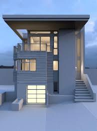 artstation modern urban house steven bracki