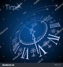 abstract clock background conceptual vector stock vector 123740032