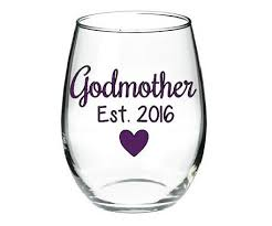 godmother wine glass godmother wine glass will you be the godmother glass baby reveal