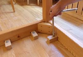 attaching legs to a table attaching table legs with a dowel jig