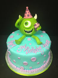 monsters inc birthday cake s inc birthday cake with mike