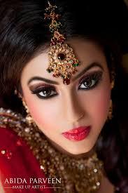 beautiful indian bride reception makeup