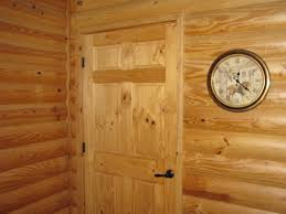 Interior Log Home Pictures Pine Log Siding Interior With Just A Clear Coat P 251 210