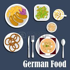 la cuisine allemande tasse de bière oktoberfest alimentaire allemande et bretzels