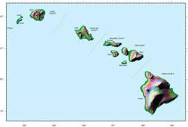 Blank Map Of Hawaiian Islands by Oahu Blank Map U2022 Mapsof Net