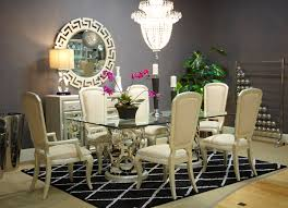 Aico Furniture Outlet Aico After Eight Dining Collection Modern And Chic For Lovers Of