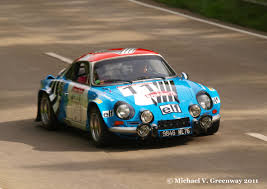 alpine a110 renault alpine a110 1800 group 4 rally car 1973