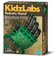 amazon com 4m robotic hand kit toys u0026 games