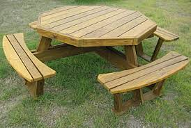Octagonal Picnic Table Project by Octagon Picnic Tables Made By Quality Patio Furniture