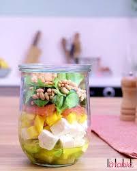 cuisiner pour une personne salad in a jar salade en bocal recette salades en bocal