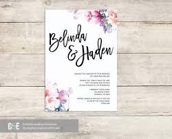 watercolor wedding invitations 27 watercolor wedding invitations free premium templates