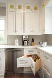 smart corner drawers are a must in the l shaped kitchen drawers