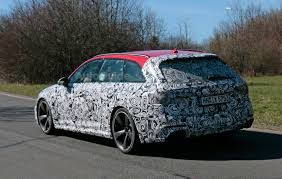2018 audi rs4 avant spied testing near the nurburgring autoguide