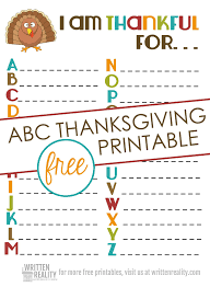 thankful abcs printable is for thanksgiving written reality