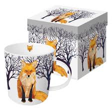 Fox Mug by Winter Fox Mug Shop Pbs Org