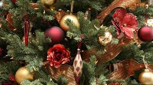 lots of new year tree decorations picture wallpapers