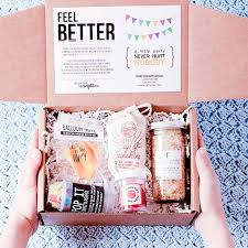 feel better care package ideas feel better care package goodies cheer and gift